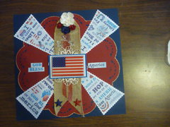4th pinwheel doily burlap floral flag stars pg lo