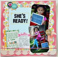 She's Ready!