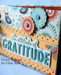 Attitude of Gratitude mini *Glue Arts* 2
