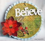 Believe mini *Clear Scraps*