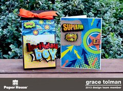 Birthday boy gift set *Paper House*