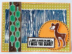 Miss you dearly *American Crafts*