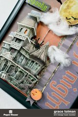 Fright Night Altered Frame *Paper House* 3