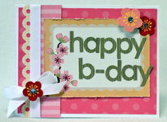 Happy Bday card *My Little Shoebox*