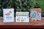 Halloween card trio *Epiphany Crafts*