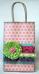Life's a stitch bag *Paper Bakery January Add On kit*