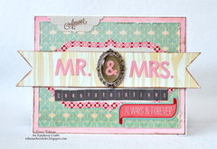Mr & Mrs. card *Epiphany Crafts*
