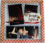 Temple lights *Clear Scraps*
