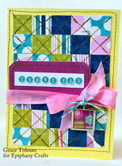Thank you card *Epiphany Crafts*