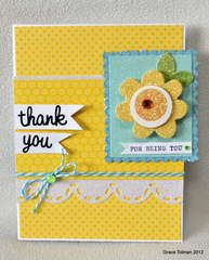 Thank You for being you card *Ella Publishing*