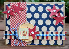 USA card *Paper Bakery June Add On kit*
