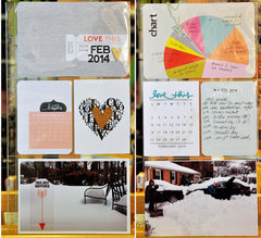 February Project Life pg2