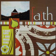 Faith {Scrapfaith challenge}