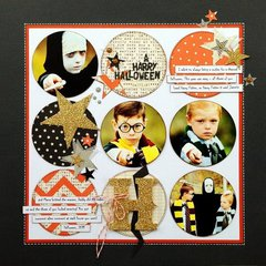 *A Harry Halloween* NEW American Crafts HALLOWEEN