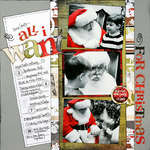 *All I Want (for Christmas)* ST Dec. '08 COVER!