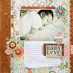 *Baby Love* BasicGrey HOPSCOTCH + Core'dinations