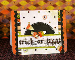 *Trick-or-Treat* Card