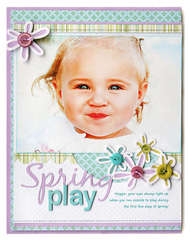 *Spring Play* April '09 CK Cover
