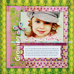 *Growning* Layout designed for ScrapFest