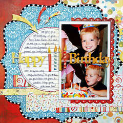 *Happy Birthday*  NEW BasicGrey CUPCAKE
