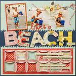 *Life's a Beach* NEW BasicGrey PB&J