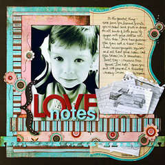 *Love Notes* Bazzill/CE Idea Book '08