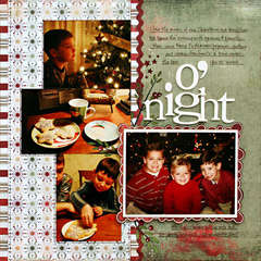 *O'night* - Scrapbook.com Wassail Kit!!