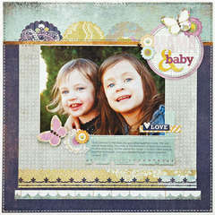 *Mama & Baby* NEW BasicGrey PLUMERIA