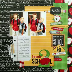 *Back 2 School* NEW Simple Stories SMARTY PANTS