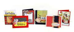*JuneBug Everyday Cards* designed for Scrapfest