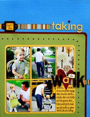 *taking the Walk*  BHG Aug/Sept '07