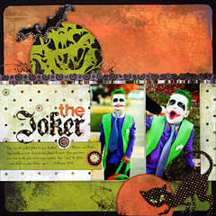 *The Joker* NEW BasicGrey EERIE
