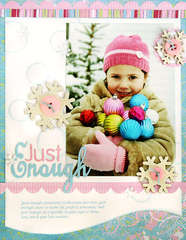 *Just Enough* Scrapbook & Cards Today Winter '08