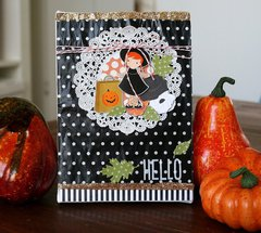 Hello Girl Canvas **Pebbles DT**