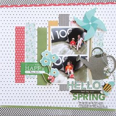 Hello Spring **Pebbles DT**