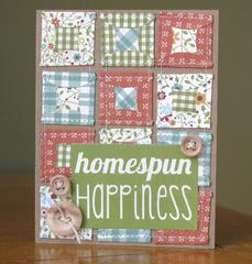 Homespun Happiness card