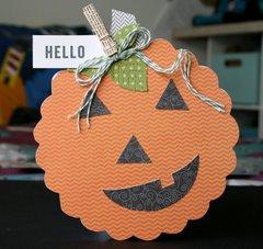 Hello Pumpkin **Pebbles DT**