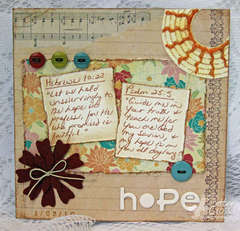 {Scripture Challenge 2} Challenge #1, Hope