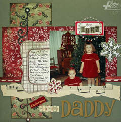 Christmas without Daddy {Unity Stamp Co.}