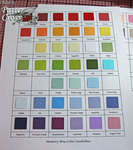 Cardstock Swatches