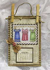 Three Dresses Calendar