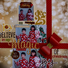 Believe in the Magic of Christmas **NEW SIMPLE STORIES**