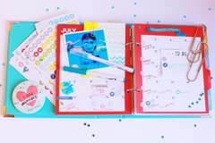 Simple Stories Planner - July