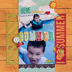 Here Comes Summer **Simple Stories**