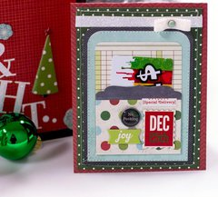 Simple Stories December Documented Gift Card Holder