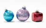 Advantus Sulyn Vintage Sparkle Glitter Ornaments