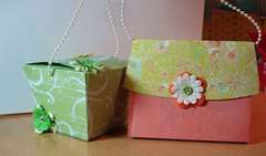 Sizzix gift boxes
