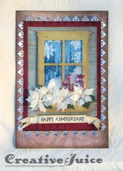 Christmas Window Shaker Card