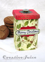 Vintage Kitchen cookie canister
