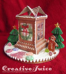 Gingerbread Luminary